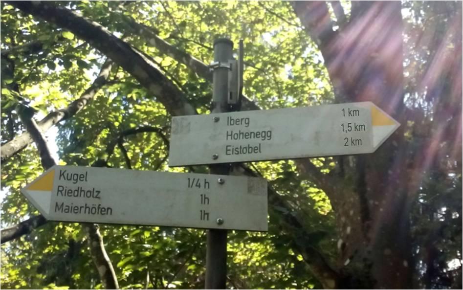 """Foto """"1,5 km""""-Weg"""